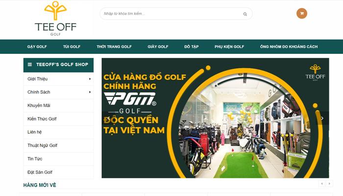 Cửa hàng đồ golf, thời trang golf nhập khẩu - Teeoff's Golf Shop